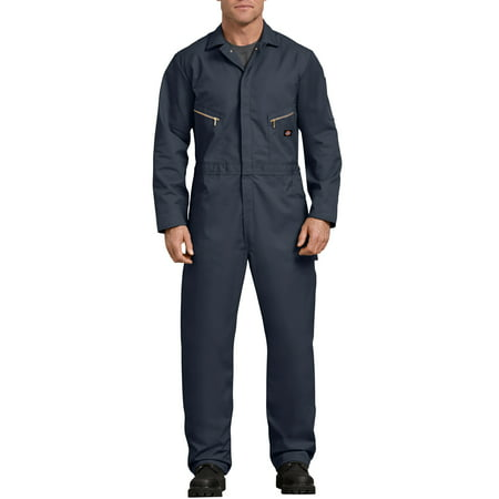 Men's Long Sleeve Deluxe Blended Twill Coverall (Carhartt Duck Coverall)