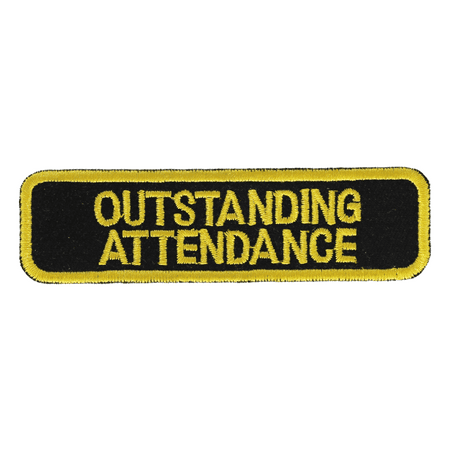 Attendance Patch (Outstanding Attendance Patch:)