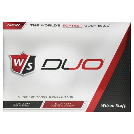 Wilson Staff Duo Soft Golf Balls, 12 Pack