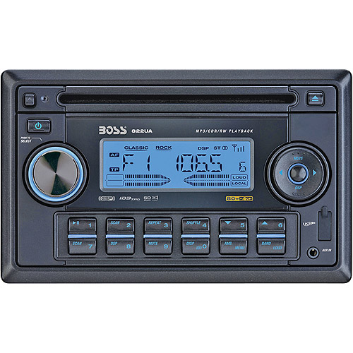 Boss Audio 822UA Double-DIN In-Dash CD Receiver