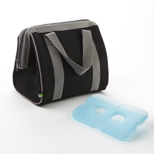 Fit and Fresh The Big Phil Insulated Lunch Carrier, Brown Cotton