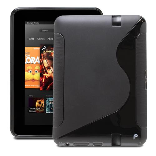 Fosmon DURA S Series TPU Case for Amazon Kindle Fire HD 7 (1st Generation, Sept 2012) - Black