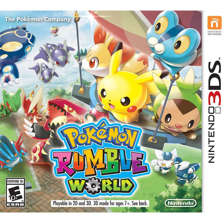 Pokemon Rumble World (Nintendo 3DS)