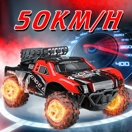 Off Road Truck - 1:18 48 KM/H 2.4GHz Remote Control Car RC Electric Monster Truck Off Road Vehicle Kids Toy