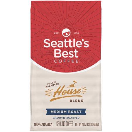 Seattles Best Coffee House Blend Ground Coffee  20 Oz
