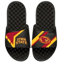 Iowa State Cyclones ISlide Youth Starter Jacket Slide Sandals - Black