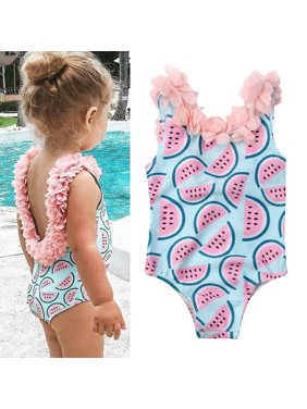 ef719029c20 Product Image Toddler Infant Baby Girl Cute Watermelon Swimsuit Swimwear  Bathing Suit Bikini