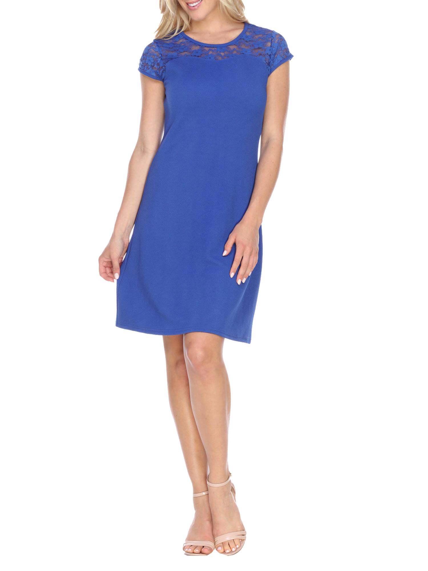 Women's Lace Detailed A-Line Dress