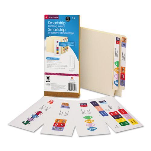 Smead Manufacturing Company Smartstrip Labeling System Starter Kit