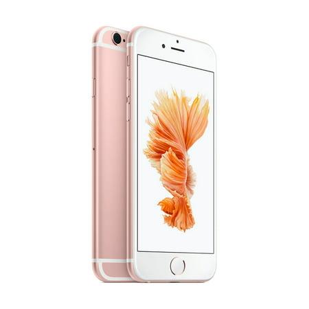 Straight Talk Prepaid Apple iPhone 6s 32GB, Rose Gold