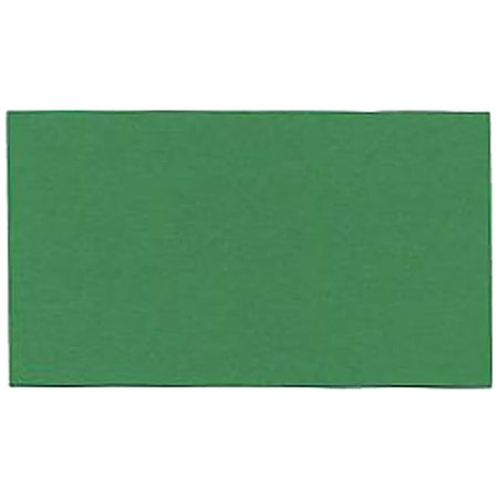 JAM Paper Flat Note Cards, 2 x 3 1/2, Green,