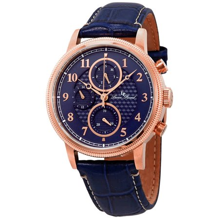 Lucien Piccard Chrono (Lucien Piccard HOLDEN Blue Dial Watch LP-28017MF-RG-03BLS )