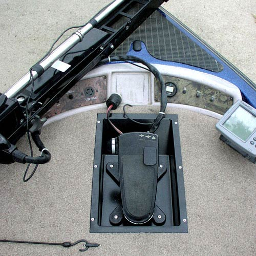 Rod Saver Trolling Motor Recessed Tray