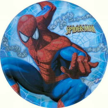 Amazing Spider-Man Lunch Plates 8ct, Amazing Spiderman By Factory Card and Party Outlet - Factory Card Outlet Halloween Costumes