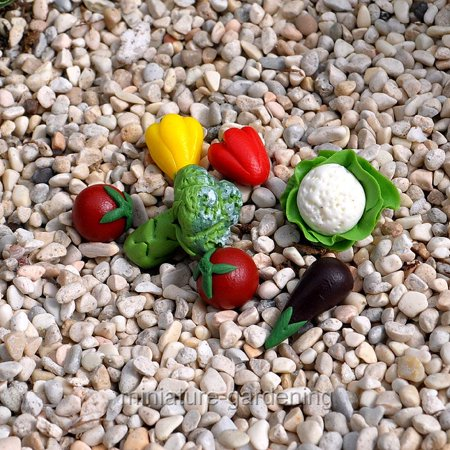 Miniature Garden Vegetables for Miniature Garden, Fairy Garden
