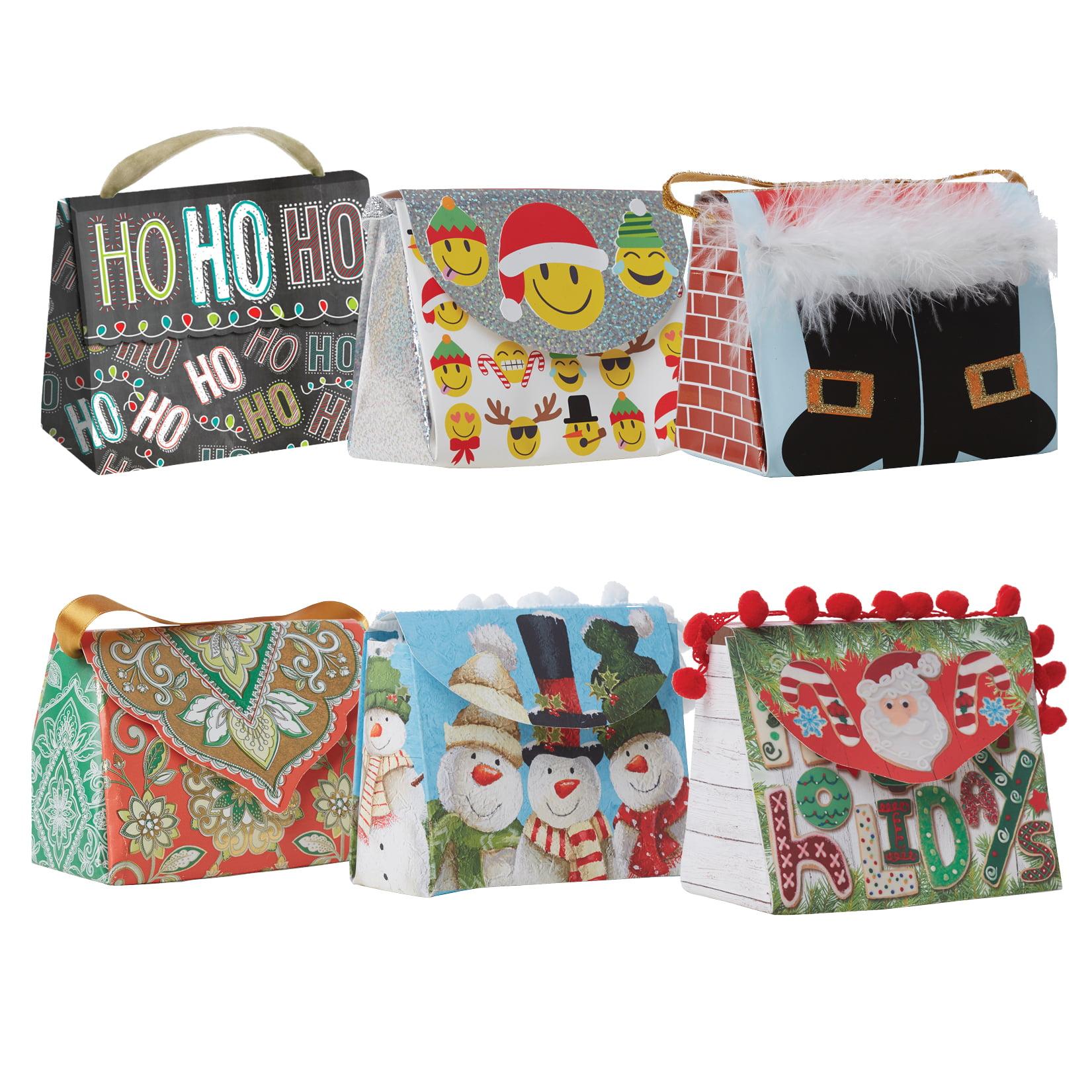 Jillson & Roberts Candy Clutch Assortment, Christmas Designs (6 Bags)