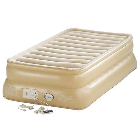 Aerobed 88021 Smart Settings 20 Raised Twin Inflatable Air Bed Mattress