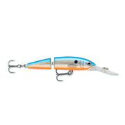 Rapala Jointed Deep Husky Jerk 08 Fishing lure, 3.125-Inch, Blue Shad Multi-Colored