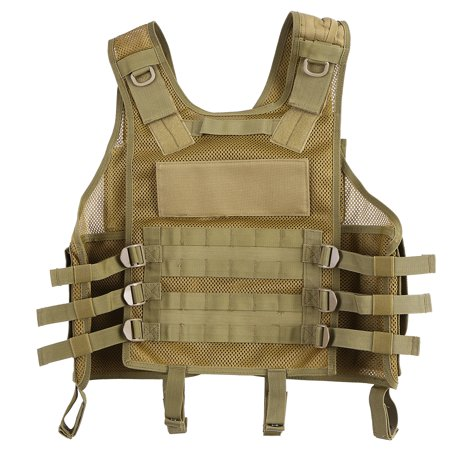 Lixada Outdoor Hunting Molle Vest Gear Load Carrier Vest Modular Chest Set Molle Chest Rig Adjustable Training CS Gaming (Best Chest Rig With Hydrations)