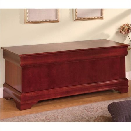 Bowery Hill Style Cedar Chest in (Cherry Finish Cedar Chest)