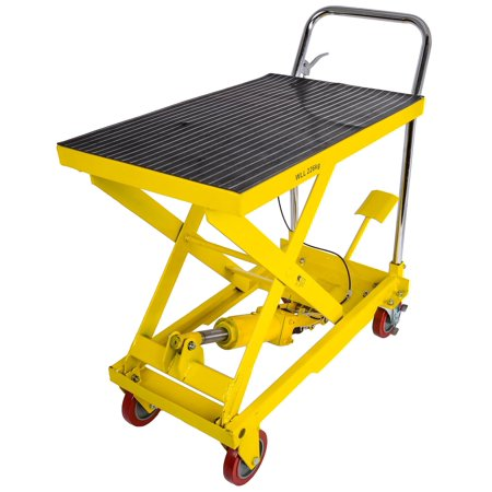 - JEGS Performance Products 81426 Hydraulic Lift Cart Capacity: 500 lb.