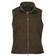 Outback Trading Grand Prix Quilted Vest L Brown