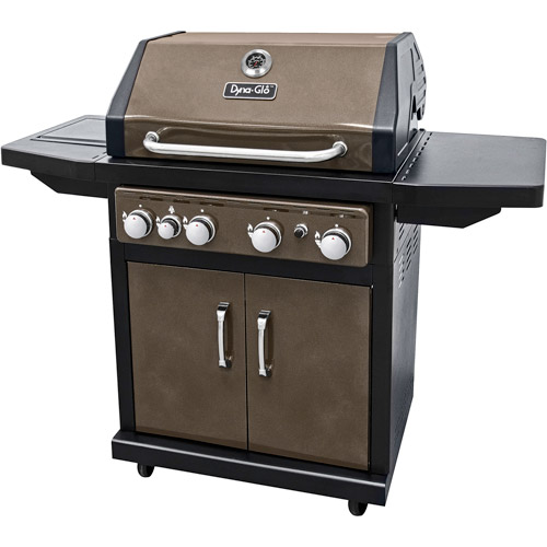 Dyna-Glo DGA480BSP 4-Burner Bronze LP Gas Grill by Generic
