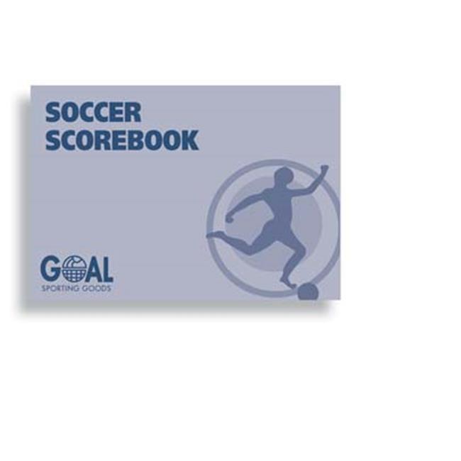 Goal Sporting Goods SSB5060E Soccer Scorebook by Goal Sporting Goods