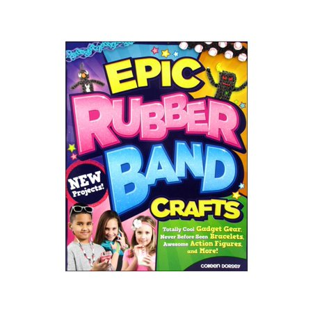 Design Originals-Epic Rubber Band Crafts, Pk 1, Design Originals