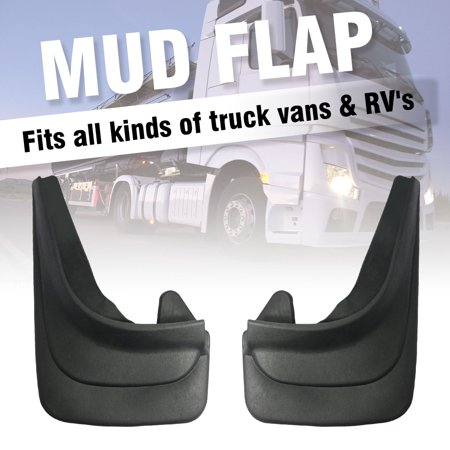 1Pair Moulded Universal Fit Mud Flap Mudflaps Front or Rear to fit For Peugeot