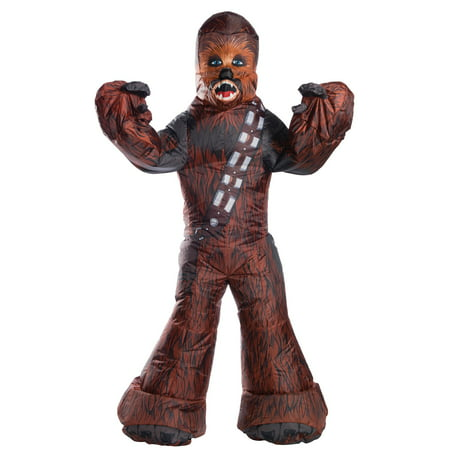 Chewbacca Inflatable Adult Costume (Chewbacca Costume Rental)