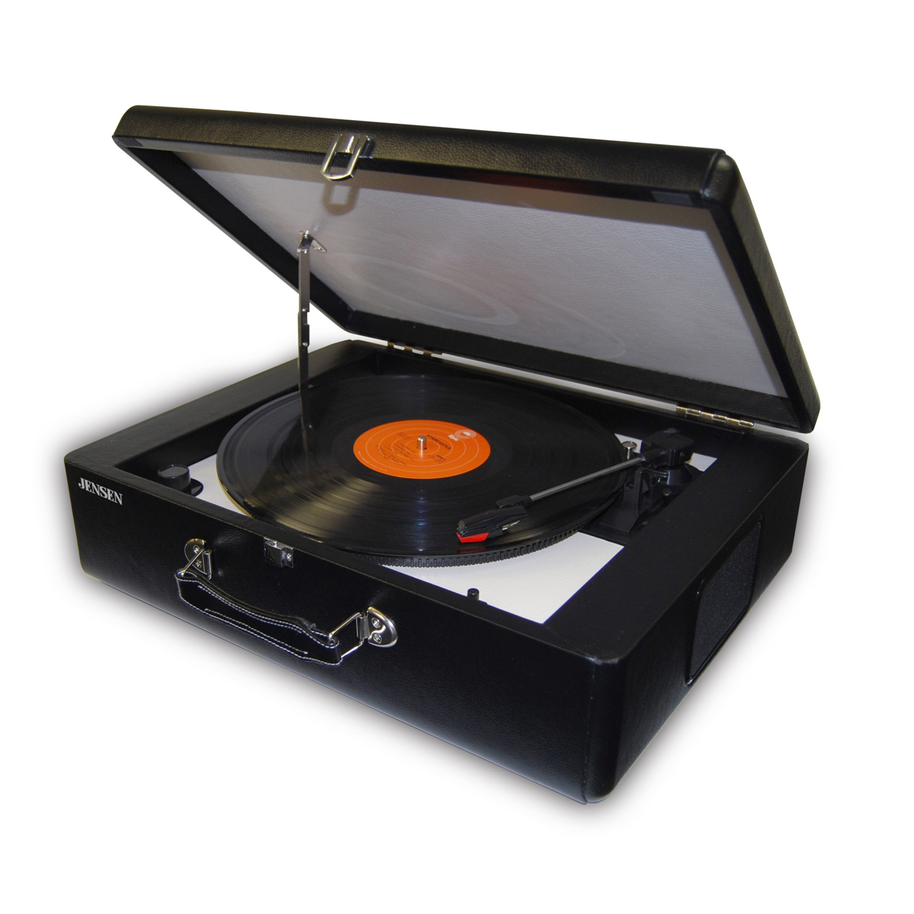 Jensen Jta-420 Portable Turntable With Built-in Speakers by Jensen