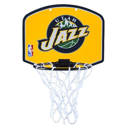 Spalding Over the Door Mini Basketball Hoop - Utah Jazz