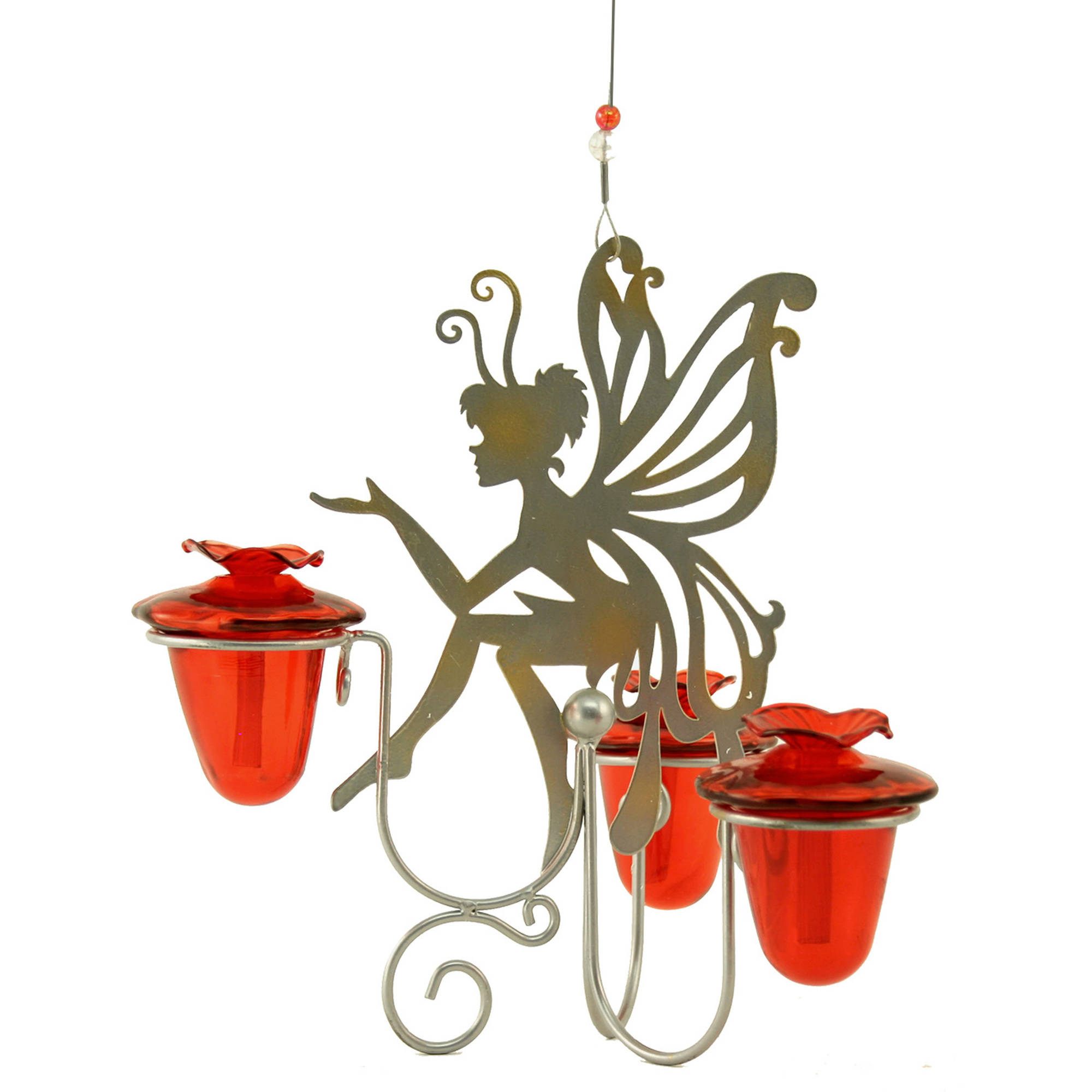 Avant Garden Fairy Dust Glass HummingBirdfeeder by Perky-Pet