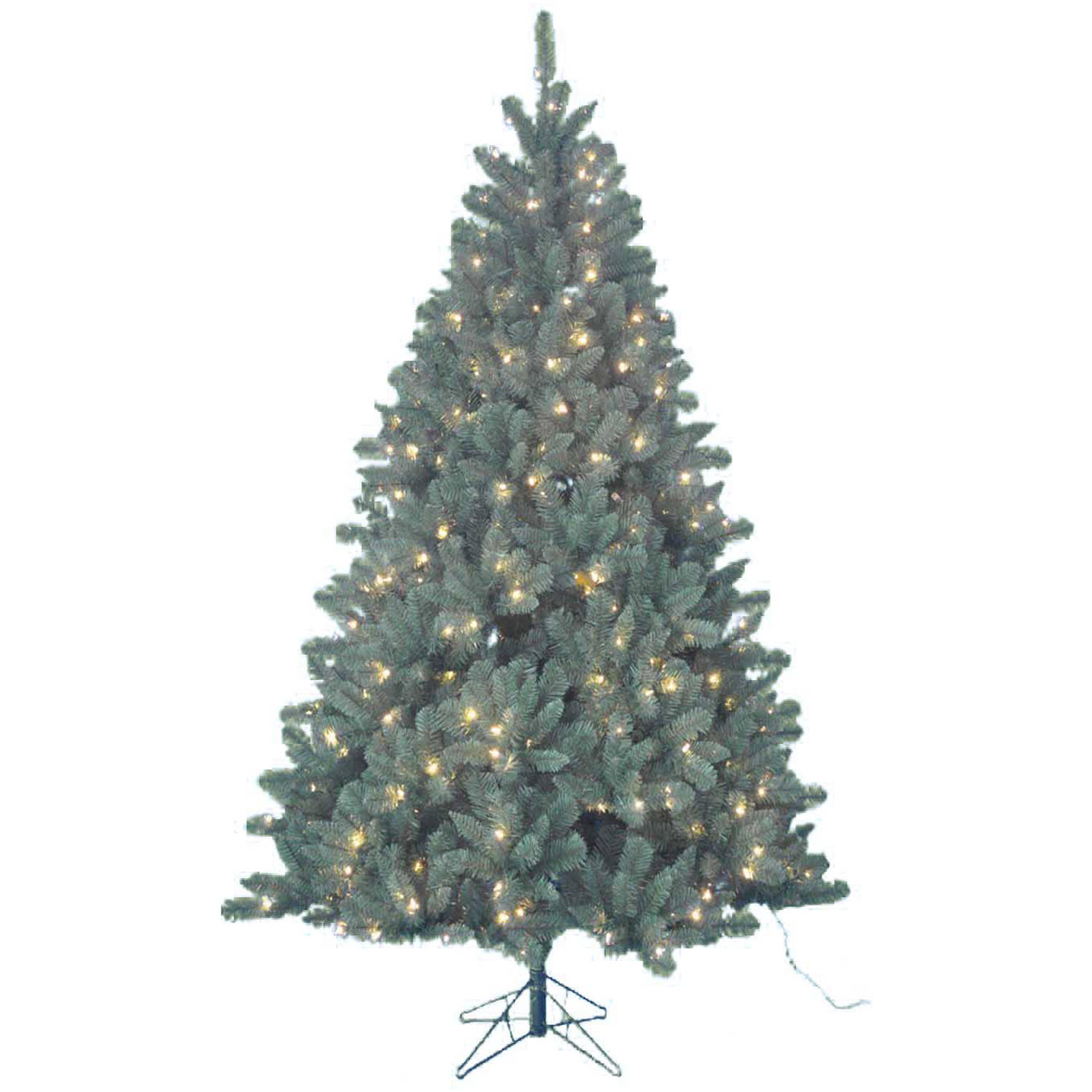 Kurt Adler Pre-Lit 7' Green Northwood Pine Artificial Christmas Tree with 400 Clear Lights