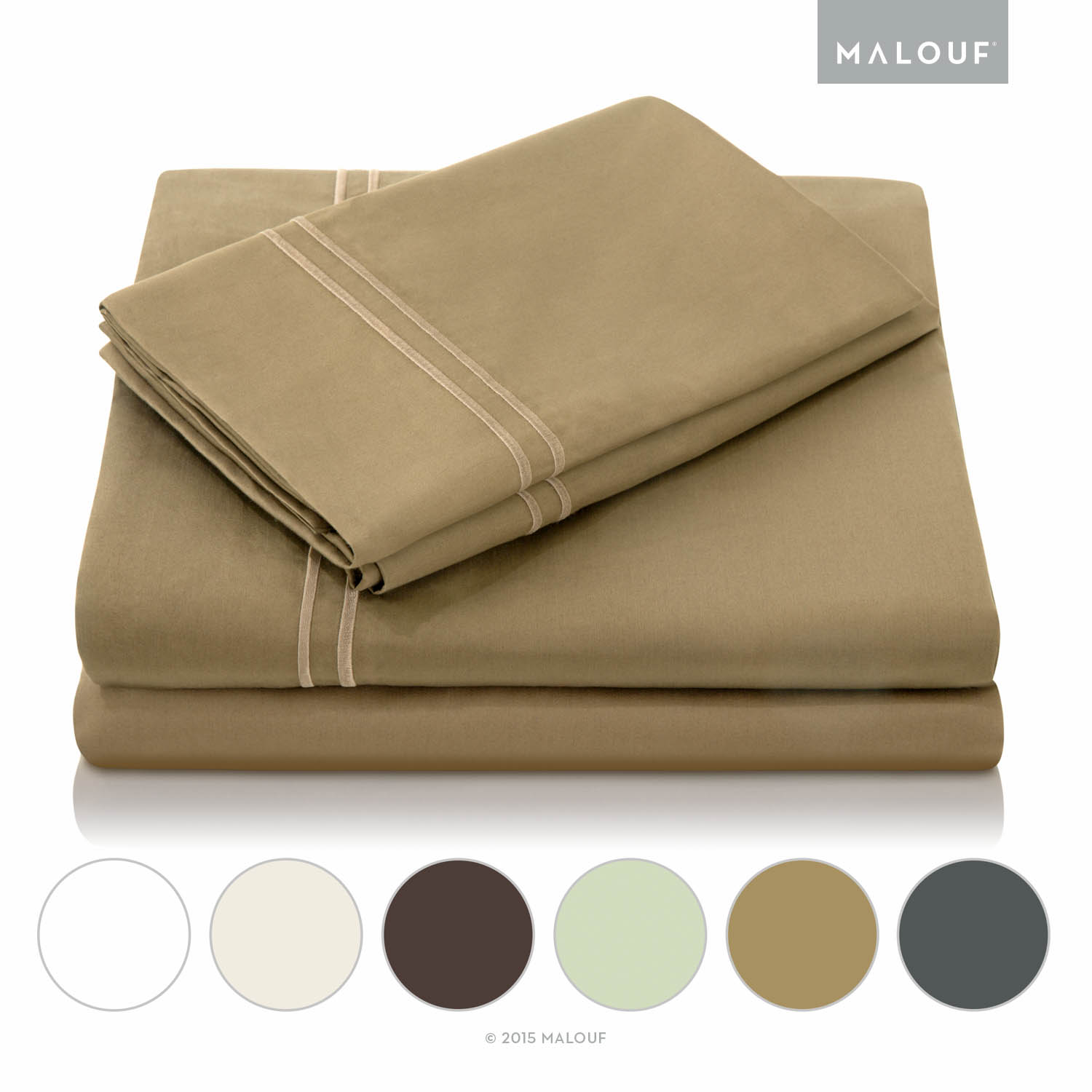 Woven 600-Thread Count Egyptian Cotton Sheet Set