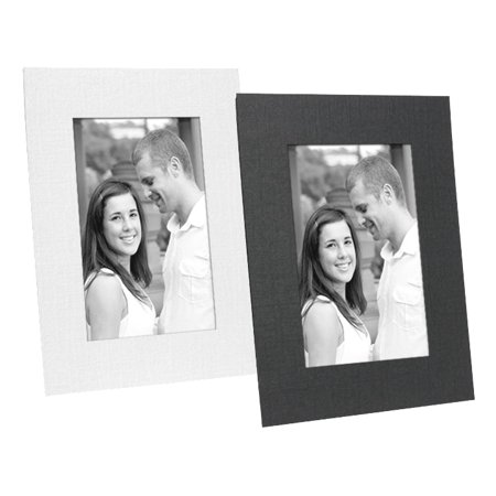 Cardboard Picture Frames 5x7 Black (25 Pack) (Photo Frame Packs)