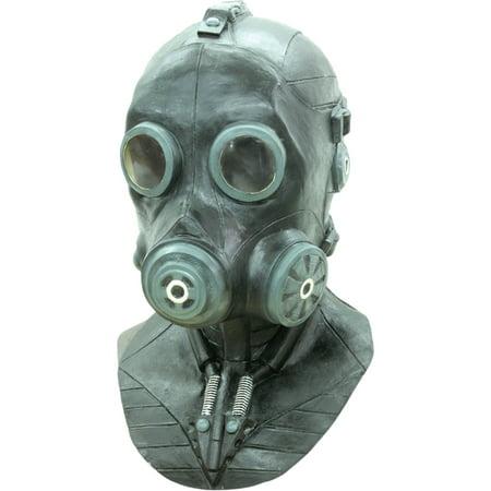 Morris Costumes Smoke Latex Mask Halloween Accessory - Halloween Punch That Smokes