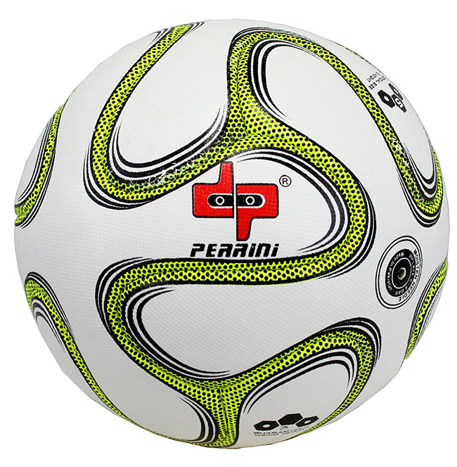 High Quality Pro Perrini Indoor Outdoor Sports Brazuca Green  Soccer Ball Size 5