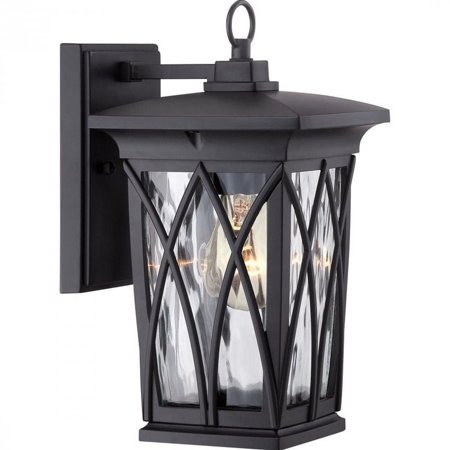 Quoizel Grover Small Wall Lantern in Mystic Black - image 1 of 1
