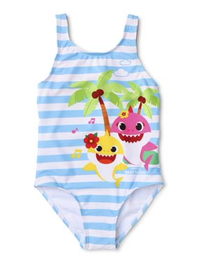 Baby Shark Toddler Girl One-Piece Swimsuit