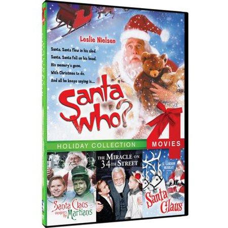 Santa Who    Santa Claus Conquers The Martians   Santa Claus   Miracle On 34Th Street