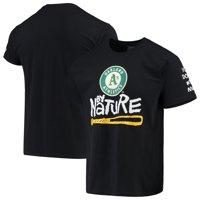Oakland Athletics Naughty by Nature Baseball T-Shirt - Black