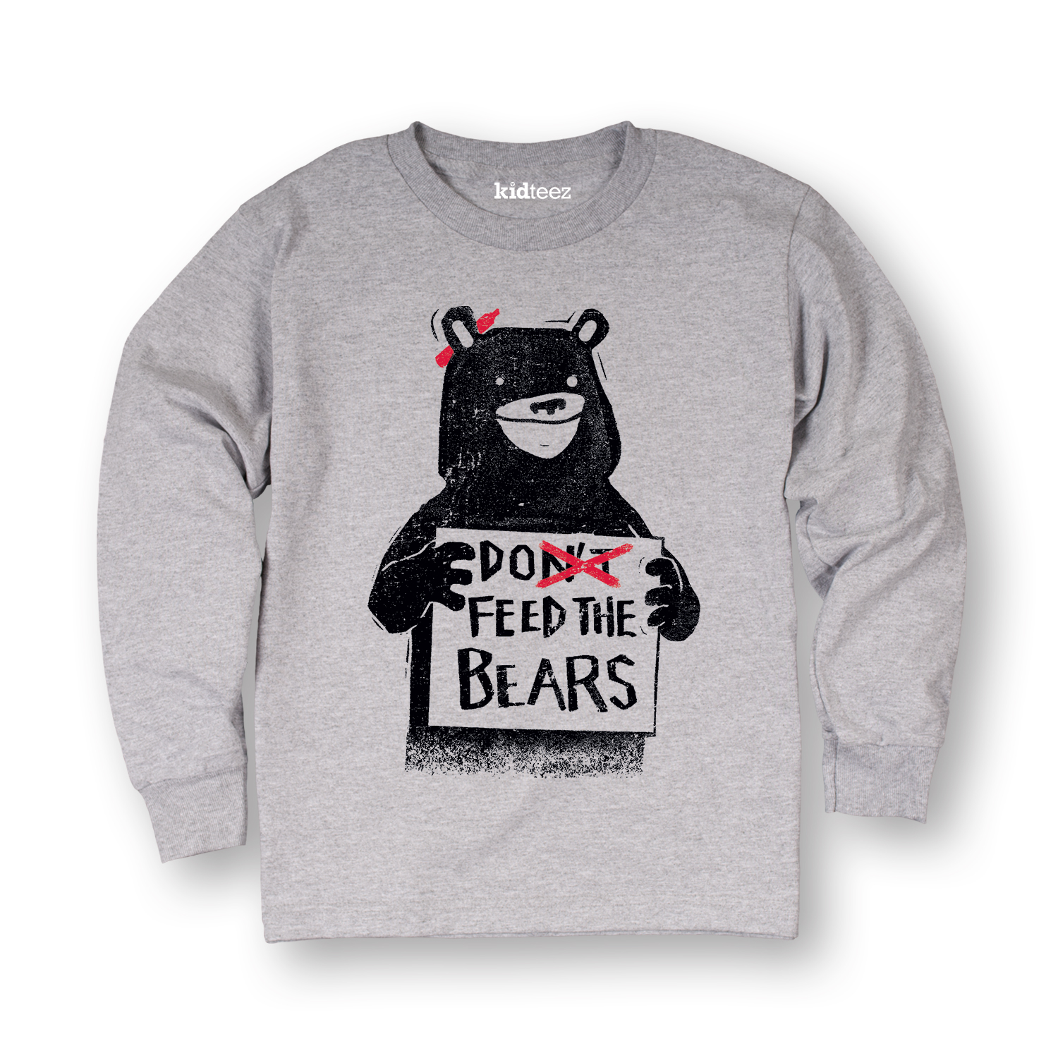 Dont Feed the Bears-TODDLER LONG SLEEVE TEE