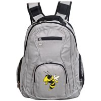 NCAA Georgia Tech Yellow Jackets Gray Premium Laptop Backpack