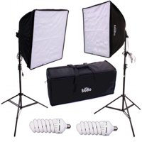 RPS Studio Dual Square Folding Softbox Kit
