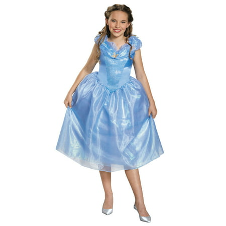 Cinderella Tween Halloween Costume, One Size, M (7-8)