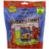 12 Pack :       Yummy Earth Organic Gummy Bears, 0.7 Ounce.
