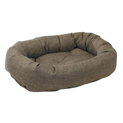Donut Bed in Driftwood Fabric (XS)