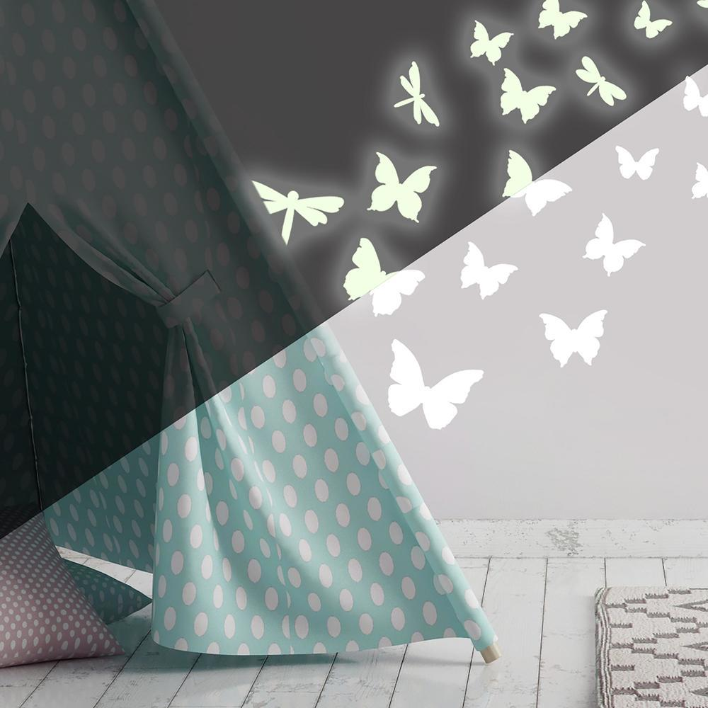 RoomMates® Glow in the Dark Removable & Repositionable Wall Decals 79 pc Pack